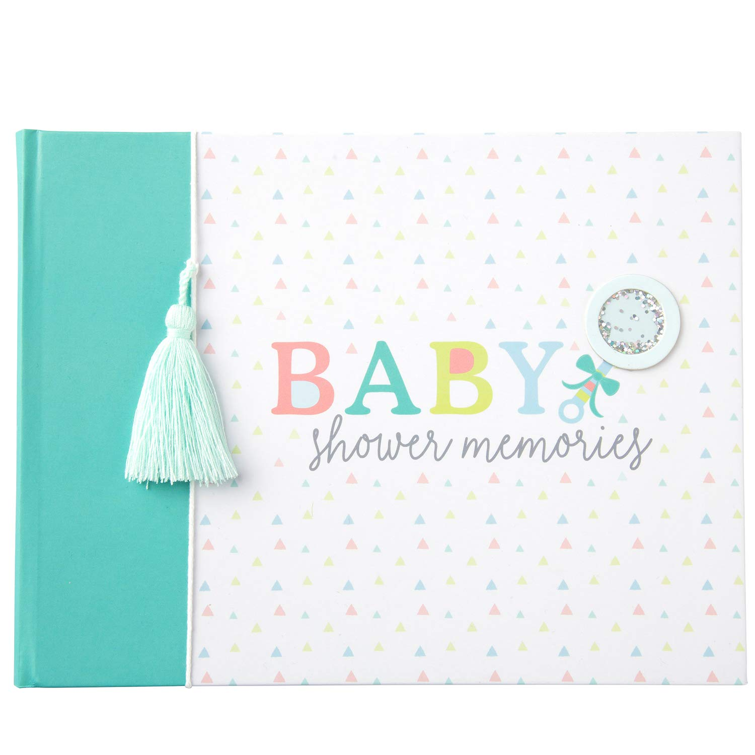 C.R. Gibson ''Baby Shower Memories'' Baby Keepsake Memory Book, 36 Pages, 9'' x 6.8''