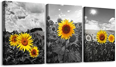 Amazon Com Sunflower Wall Decor