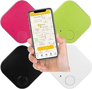 $24 » ZRB 4pcs Key Finder Item Tracker with Anti-Lost Alarm Reminder, Key Finder Locator for Phones, Keys, Wallet, Backpack, Lug...