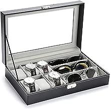 Jewelry Storage Box Watch Box Organizor with Drawer Leather Case for Watch Jewelry Display