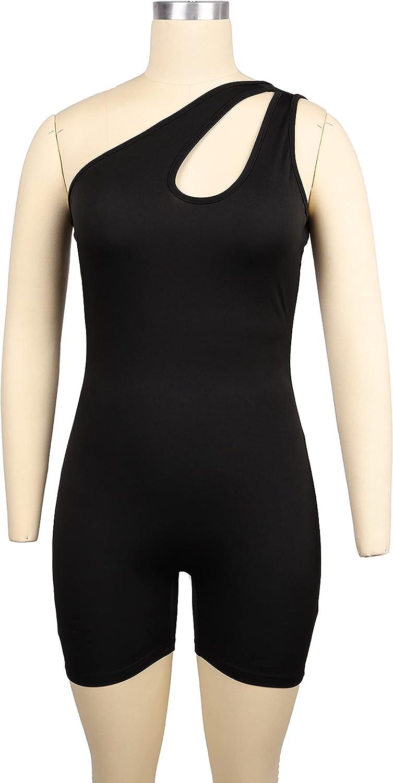 Rela Bota Women's Sleeveless Cut Out Skinny Long Pants Jumpsuits Rompers Clubwear Leopard Print