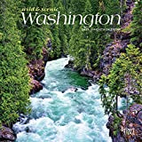 Washington Wild & Scenic 2021 7 x 7 Inch Monthly Mini Wall Calendar, USA United States of America Pacific West State Nature