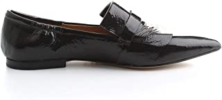POMME D'OR Luxury Fashion Womens 1575NERO Black Loafers | Fall Winter 19