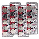 CR2032 3V Micro Lithium coin Cell Battery Maxell Original Hologram pack CR-2032 - 20 Pack