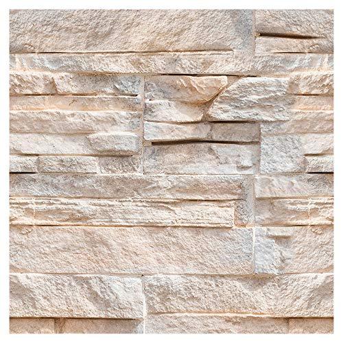 murando Tapete selbstklebend 10m Wandtattoo dekorative Möbelfolie Dekorfolie Fotofolie Panel Wandaufkleber Wandposter Wandsticker - Steinoptik Steinwand f-A-0727-j-a