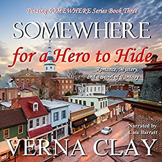 SOMEWHERE for a Hero to Hide audiobook cover art