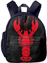 Pinta Lobster Cub Cool School Book Bag Backpacks for Girl's Boy's