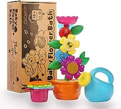 1 x 4 Becher Farbe: Multicolor Baby-Spielzeug f/ür die Badewanne zur F/örderung der Motorik BPA-frei Ab 4 Monate Deckel Stokke Flexi Bath Badespielzeug