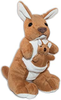 Elka Australia 60081-17BA Kangaroo with Joey Soft Plush Toy, 17 Centimeters