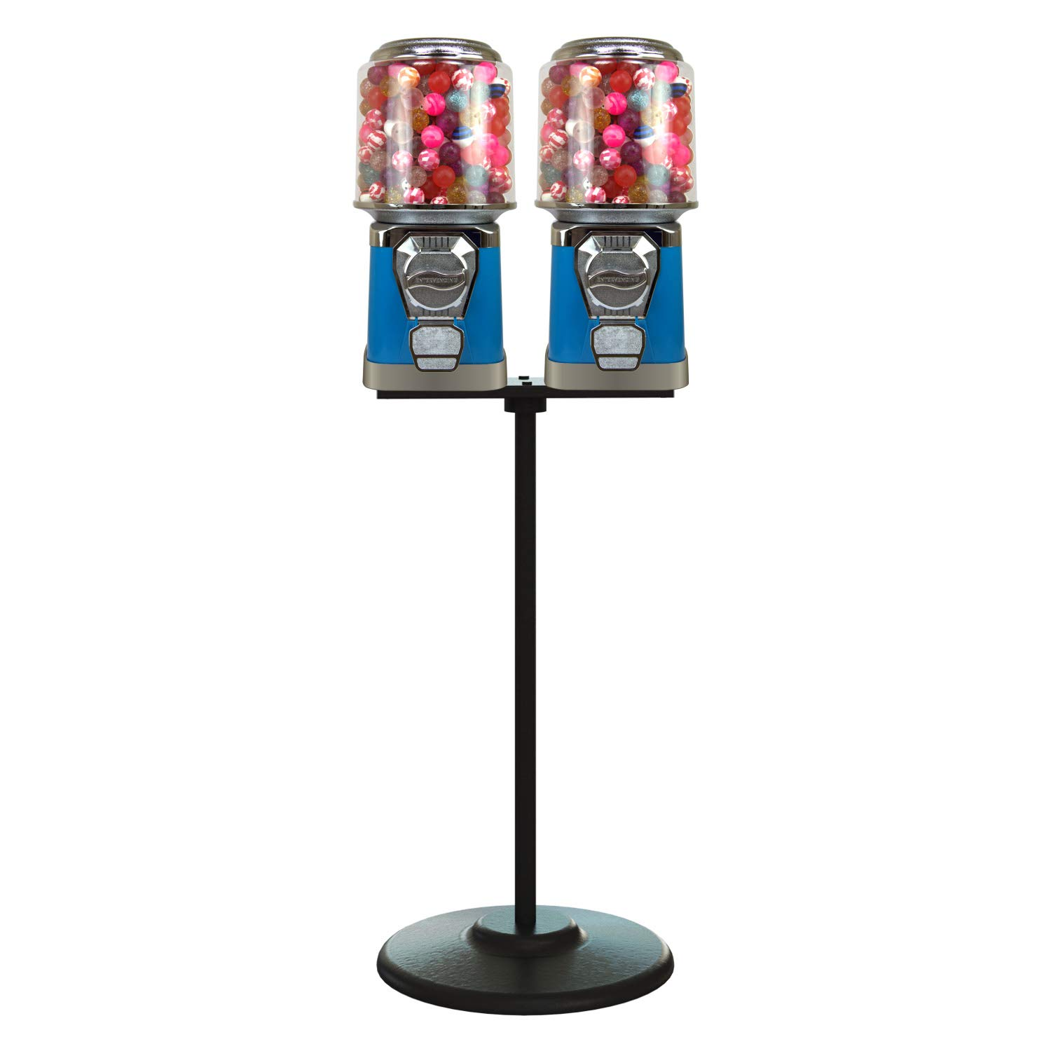 Gumball Machine with Stand - 2 and Blue Machines w Max 60% 2021 spring and summer new OFF Vending