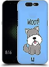 Head Case Designs Schnauzer Happy Puppies Hard Back Case Compatible for Xiaomi Black Shark