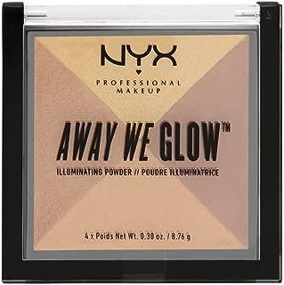 NYX PROFESSIONAL MAKEUP Away We Glow Illuminating Powder, Candlelit, 1.2 Ounce
