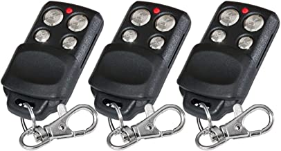 3 X Chamberlain 84335EML, 84335E, 84333EML, 84333E, 84330EML, 84330E compatibel handzender, reservezender, 433,92 Mhz roll...