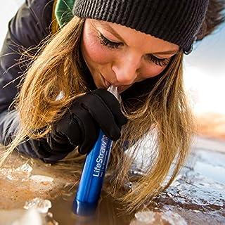 اسعار LifeStraw Steel Personal Water Filter with 2 Stage Carbon Filtration for Hiking, Camping, Travel and Emergency Preparedness