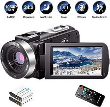 Video Camera Camcorder Full HD 1080P 30FPS 24.0 MP IR Night Vision Vlogging Camera..