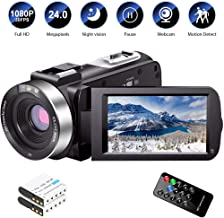 Cámara de vídeo Full HD 1080P 30FPS 24.0 MP IR visión