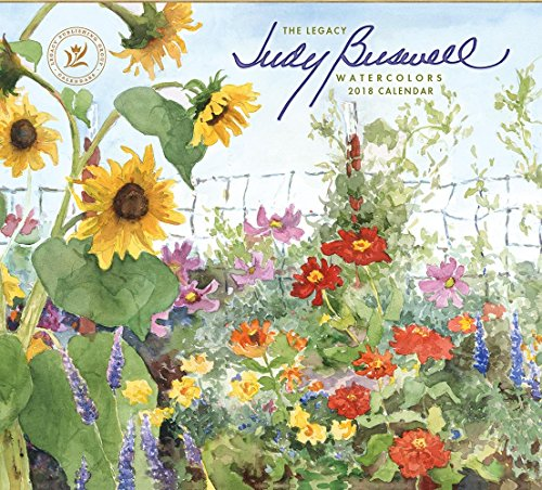 Legacy Publishing Group 2018 12-Month Wall Calendar, Judy Buswell Watercolors