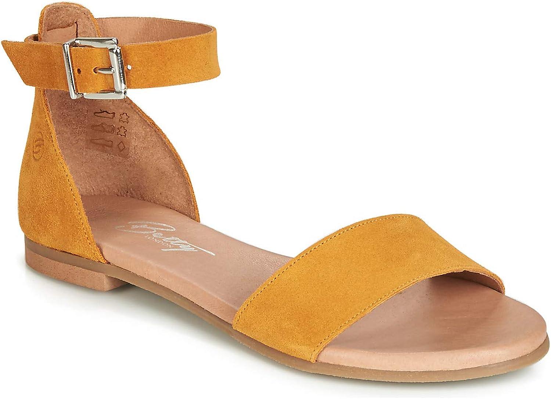 Betty London JIKOTITE Sandalen Sandaletten Damen Gelb Sandalen Sandaletten    Moderne Technologie