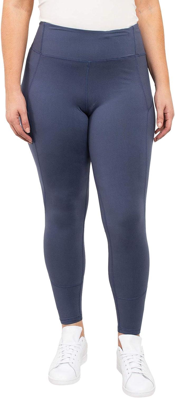 RIAH FASHION Comfortable Casual Leggings Regular, Plus Size - Soft Stretch Pants Warm Fleece Lined Solid, Camo Bohemian Print