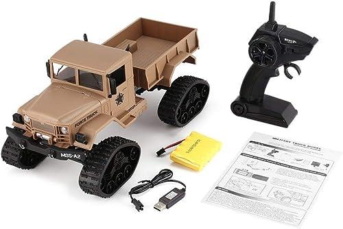GreatWall FY001B 2,4 GHz 1 16 4WD Gel ewagen RC Caterpillar Military Truck Crawler RC Auto Gelb