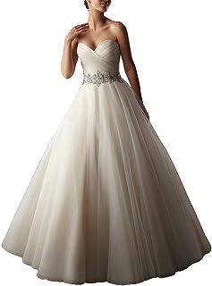 c35b9ff2be6 YIPEISHA Wedding Dress Sweetheart Tulle Wedding Dresses Bridal Plus Size Ball  Gowns