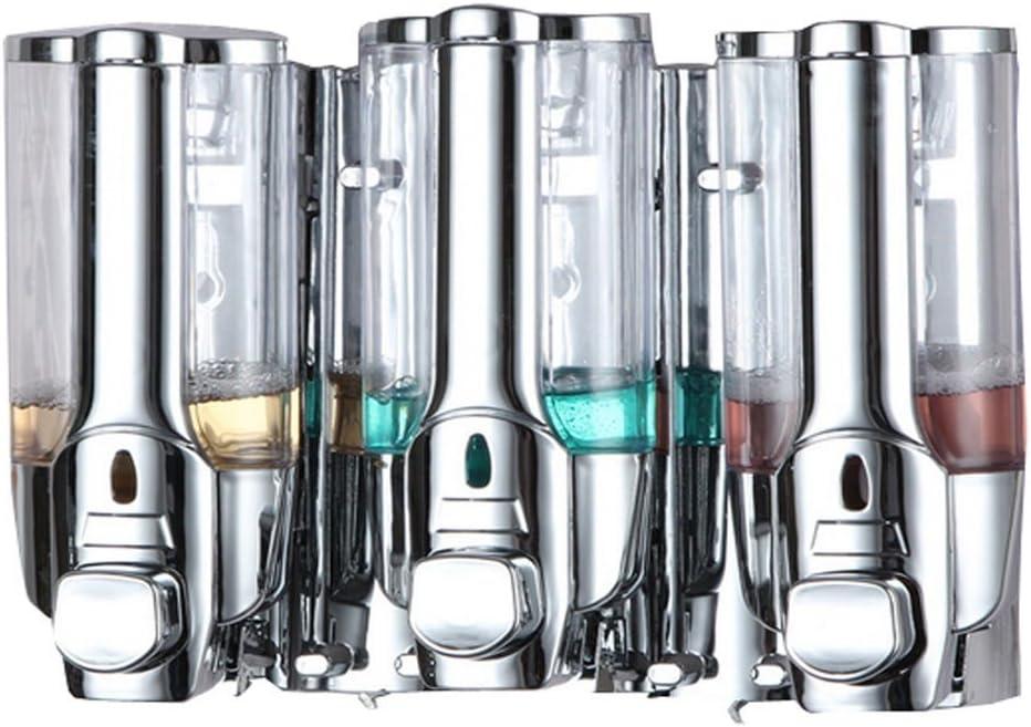 Quality Colorado Springs Mall inspection Dzhot51 Shower 3 Chamber Dispenser Liquid Soa Pump Caddy