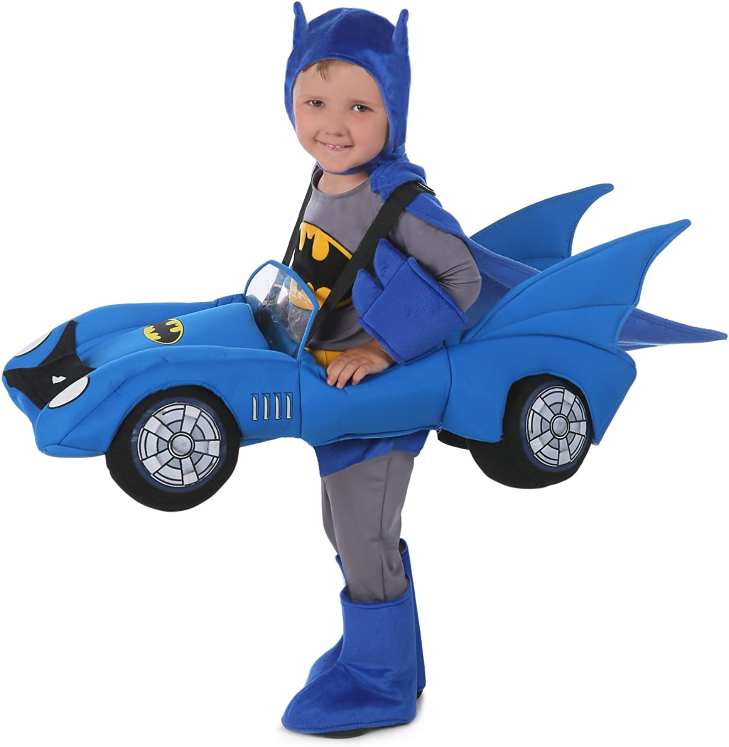 Boy DC Comics Ride-In Batmobile Costume for Toddler