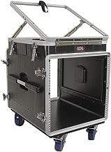 Gator Cases Lightweight ATA Molded Console Rack Case; 12U Pop-Up Top and 10U Side (GRC-12X10 PU)