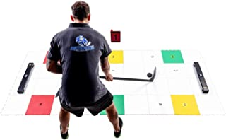 Hockey Revolution Professional Training Flooring Tiles - Practice Trainer Set with Passers, Symbols, Colors and Free Mobil...