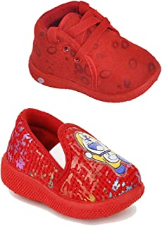 Girls Clubs Combo Causal Infant Shoes Age - Group - 6 Months to 24 Months for Kids