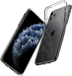 Spigen 075CS27129 Liquid Crystal Designed for Apple iPhone 11 Pro Max Case (2019), Crystal Clear