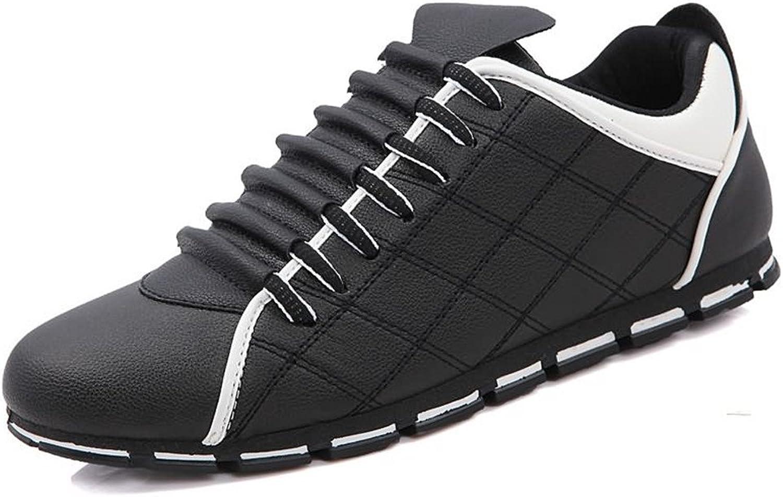 FeiNianJSh Men's Lace UP Athletic shoes Superlight Flat Heel Leisure Sports Sneaker shoes