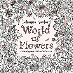 Flower and Garden Coloring Books for Adults