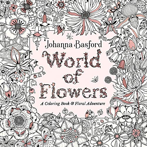61ezYqNBglL. SL500  - World of Flowers: A Coloring Book and Floral Adventure