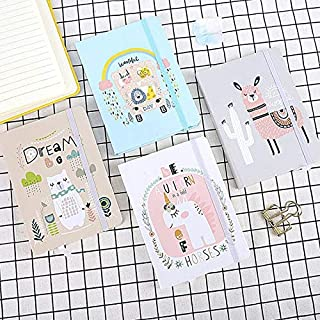 Durable Office Supplies, Cute Animal Notebook Fun Office Supplies, A5a6 Diary Jersh-school&office Supplies for Blank Writing Paper Notebook Gift Stationery Office (Color : Random 1 pcs, Size : A7)