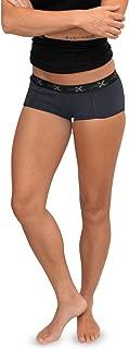 Woolx Lila - Women's Boy Short Underwear - Lightweight & Durable Merino Wool Bottoms