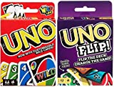 Mattel Uno Original and Uno Flip Card Games, Combo Pack of 2