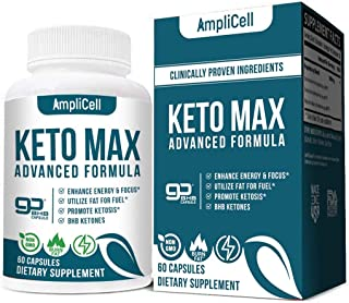Keto Diet Pills - Utilize Fat for Energy with Ketosis - Boost Energy & Focus, Support Metabolism, Manage Cravings - Keto M...
