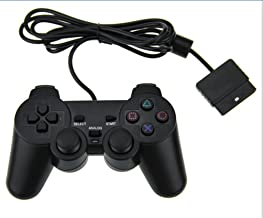 KUYOO PS2 Wired Game Controller Sony Playstation 2 Black