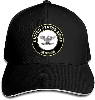 U.S. Army Colonel Veteran Adjustable Sandwich Cap Baseball Cap Casquette Hat