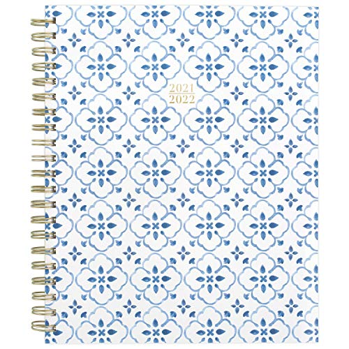 Academic Planner 2021-2022, Cambridge Weekly & Monthly Planner, 8-1/2' x 11', Large, for School, Teacher, Student, Lydia (1553-905A)