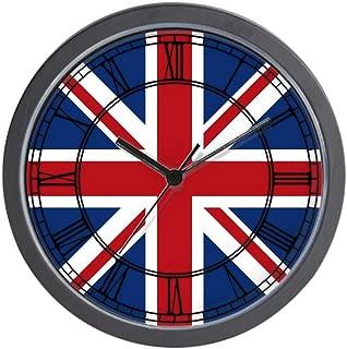 CafePress-United Kingdom Union Jack Flag-Wall Clock