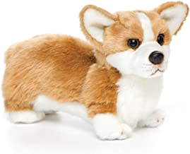 Nat and Jules Standing Small Corgi Dog Children's Plush Stuffed Animal Toy