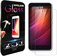Compatible with Redmi Note 5A (Prime) Screen Protector Foils, (2 Pack) 9H Hardness Tempered Glass Film for Xiaomi Redmi Note 5A, Redmi Note 5A Prime