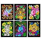 Dove, Bunny, Kitten, Puppy, Unicorn, Tiger Cub - Six Fuzzy Velvet Posters