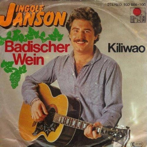 Ingolf Janson - Badischer Wein - Ariola - 100 664, Ariola - 100 664 - 100