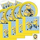 HHO Lovely Minions Partyset 52 Teile für 16 Kinde