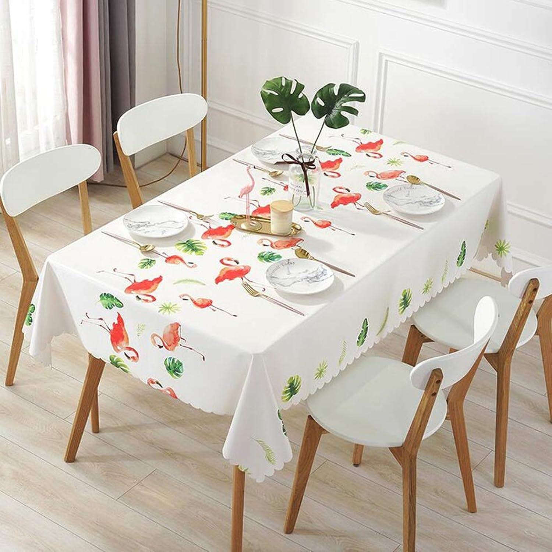 YQ QY Tischdecke Tischdecke Wischen Sauber Vinyl PVC Küche Restaurant Feld Buffet Baby Baden QY Tischdecke (Farbe   FEU, gre   138  220cm)