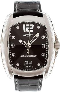 CHRONOTECH Orologio Digitale al Quarzo Uomo con Cinturino in Pelle RW0007