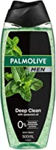 Palmolive Men Deep Clean Body Wash With Spearmint Oil, 500mL